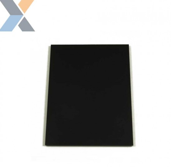 Acrylaat plaat zwart XT 8 mm dik (Plexiglas, PMMA)